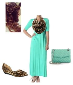 """""""Mint and cheetah!!"""" by whitneyhill on Polyvore"""