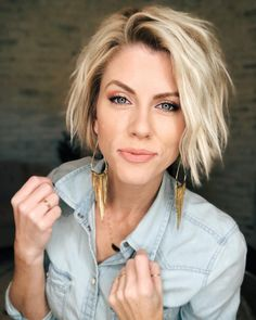 Mother of the Bride Hairstyles for Short Hair kurze haare naturlocken Cute Hairstyles for Short Hair in 2019 Short Hairstyles For Thick Hair, Short Hair Styles Easy, Cute Hairstyles For Short Hair, Short Hair Cuts, Curly Hair Styles, Bride Hairstyles, Easy Hairstyles, Teenage Hairstyles, Hair Cuts For Moms
