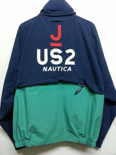 sale Distressed Vintage 1990s Nautica J-Us 2 by SuzzaneVintage