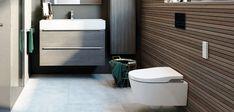 Roca-in-wash inodoro suspendido Design Wc, Design Ideas, Tanzanite Stone, Toilet, Montevideo, Bathroom Sinks, Luxury Bathrooms, Modern Bathrooms