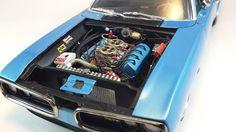 70 Super Bee 1/25 scale plastic model car ( builder thiago lowlife )