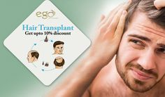 Hair ‪#‎Transplant‬ SCHEDULE AN APPOINTMENT & Get upto 10% discount in all ‪#‎hair‬ treatments. Visit: www.goego.in/hairtransplant