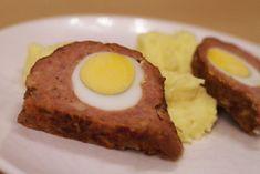 Stefánia vagdalt Eggs, Breakfast, Food, Morning Coffee, Essen, Egg, Meals, Yemek, Egg As Food