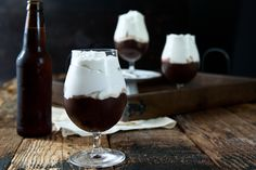 Chocolate Stout Pudding with Beer Whipped Cream | eHow Food