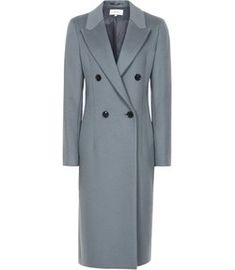 Reiss Heston - Longline Double Breasted Coat in Slate, Womens, Size 10 Best Winter Coats, Winter Coats Women, Coats For Women, Clothes For Women, Reiss Dresses, Iconic Dresses, Sweater Coats, Women's Coats, Sweaters
