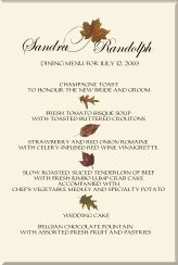 images about Fall Wedding Programs on Pinterest