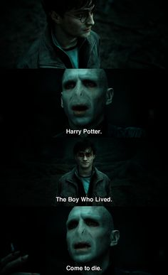 Harry Potter: Deathly Hallows Part 2.