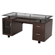 Ebern Designs Knowlton Executive Desk Computer Desks For