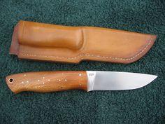 Во-первых нож (с помощью TRAPPER лезвие ENZO)