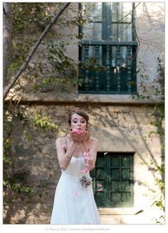 Photos by Sweet Events. Girls Dresses, Flower Girl Dresses, Pink Petals, Romantic Love, Real Weddings, Events, In This Moment, Wedding Dresses, Sweet