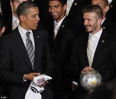 Beckham + Obama