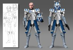 Clone Wars Season 7 - Echo LIVES (Variations) by Brian-Snook on DeviantArt