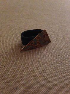 Ring i læder og et stykke flot messing :-) Messing, Cuff Bracelets, Jewelry, Ring, Jewlery, Jewerly, Schmuck, Jewels, Jewelery