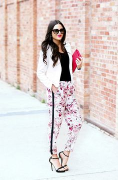 How To Wear Track Pants: 6 Ways To Style Them for Summer via @WhoWhatWear