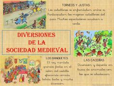 EDAD MEDIA PARA NIÑOS Medieval World, Maila, Middle Ages, History, School, Books, Fabrics, Learn Spanish, Social Stories