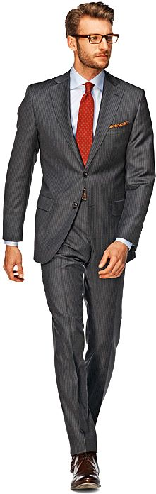 Sevilla Grey Stripe Suit