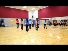 Stop & Drink - Line Dance (Dance & Teach in English & 中文) - YouTube