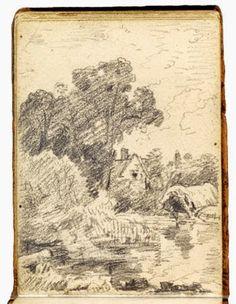 de vuelta con el cuaderno: John Constable. Sketchbook