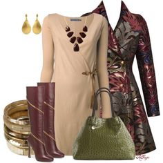 Zippered Boots for Fall, created by kginger on Polyvore