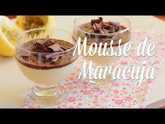 Mousse de Maracujá - Presunto Vegetariano