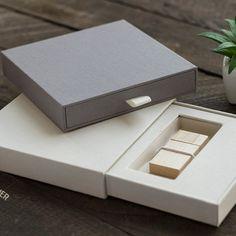 Linen Book Cloth USB Drawer Box | Photographer Supply Co. | Photographer Packaging & Presentation Inspiration