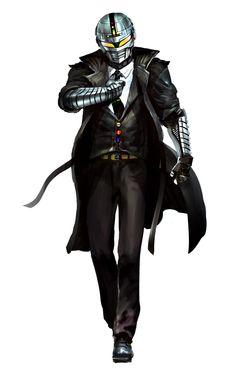 my Wishlist cosplay  Uchuu Keiji Gavan detective version Fanmade by Kekai Kotaki