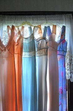 Vintage nightgowns -  just started collecting these again. LOVE them