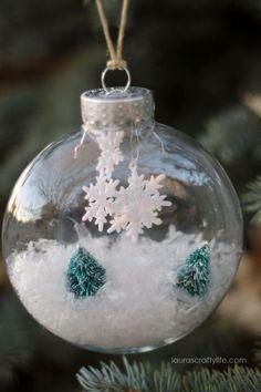 Diy ● Winter Wonderland Handmade Ornament
