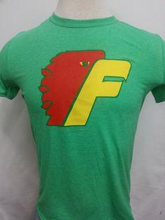 bd72ee1aee1 Philadelphia Firebirds soft green t-shirt