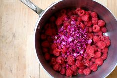 Rose-Raspberry Jam. I really want to make this, but have no real jamming skills.