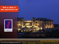 Hotel Empires in Paradip offers luxury accommodation & qualified degrees of Hotel Management Staffs for your hospitality.