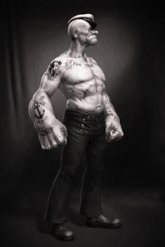 Popeye WOD! #crossfit #paleo #popeye http://www.paleodietinabox.com