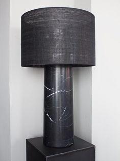 Rue Verte — Noir Marble Lamp
