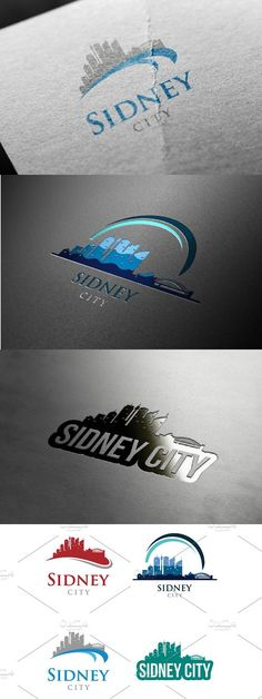 Sidney Skyline Landscape Silhouette Travel Logo This design is suitable for companies / product in the sector of business / financial, real estate, Ui Design Tutorial, Design Tutorials, Landscape Silhouette, Hotel Logo, Travel Logo, Travel Tours, Letterhead, Background Images