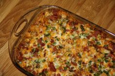 Make and share this Loaded Potato and Buffalo Chicken Casserole recipe from Food.com.