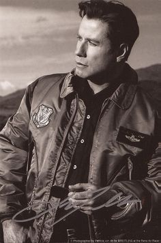 Collectible Movie Legend John Travolta Autograph Hand Signed Broken Arrow Photo