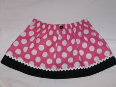 Minnie Mouse Skirt  Birthday Party Favor  by PinkPopPolkaDot, $18.00