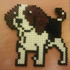 Beagle dog hama beads by hammaworld
