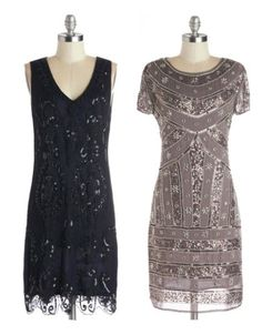 Inspiration for How to Wear Vintage Dresses and 8 Places to Find Them - Babble 20s Dresses, Modest Dresses, Vintage Dresses, Nice Dresses, Vintage Outfits, 20s Fashion, Fashion Beauty, Vintage Fashion, Gatsby Theme