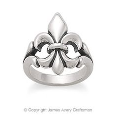 fleur de lis  Not just for France anymore!  For great Fleur de lis jewelry check out New Orleans own Mignon Faget!