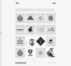 Tao - Responsive WordPress Portfolio Theme by Zizaza - design ocean , via Behance