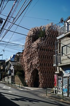 SunnyHills at Minami-Aoyama | Kengo Kuma & Associates - [mooponto]