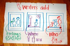 Writers add...