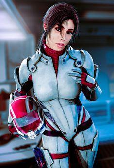 Mass Effect Ashley, Ashley Williams Mass Effect, Mass Effect Art, Mass Effect Biotics, N7 Armor, Miranda Lawson, Best Mate, Baywatch, Loose Hairstyles