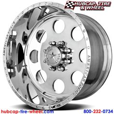 American Force Classic SS8 Polished Wheels & Rims