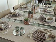 Resultado de imagen de como arrumar mesa de jantar