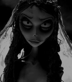 Image uploaded by July. Find images and videos about black and white, tim burton and corpse bride on We Heart It - the app to get lost in what you love. Style Tim Burton, Arte Tim Burton, Film Tim Burton, Tim Burton Characters, Emily Corpse Bride, Tim Burton Corpse Bride, Corpse Bride Tattoo, Angry Face, Mad Face