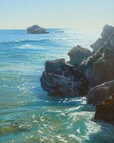 'Sparkling Morn' 30cm x 45cm is another smaller original oil painting I have been working on for Western Australia.  To see the full image checkout my Facebook page http://ift.tt/1P74FLK  Visit my website for more of my original oil paintings and Giclee prints or follow @kerrynobbsart #kerrynobbs #australianartist #art #oilpainting #originalpainting  #seascape #seascapepainting #coastalaustralia #coastalscape #travelaustralia #roadtrip #paintaustralia #oceansandrocks #oceanbreeze…