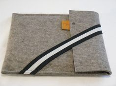 German wool felt iPad sleeve - Etsy