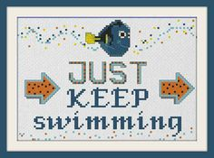 This inspirational Finding Nemo quote.